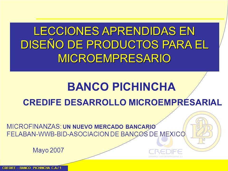 LECCIONES APRENDIDAS EN DISEÑO DE PRODUCTOS PARA EL MICROEMPRESARIO