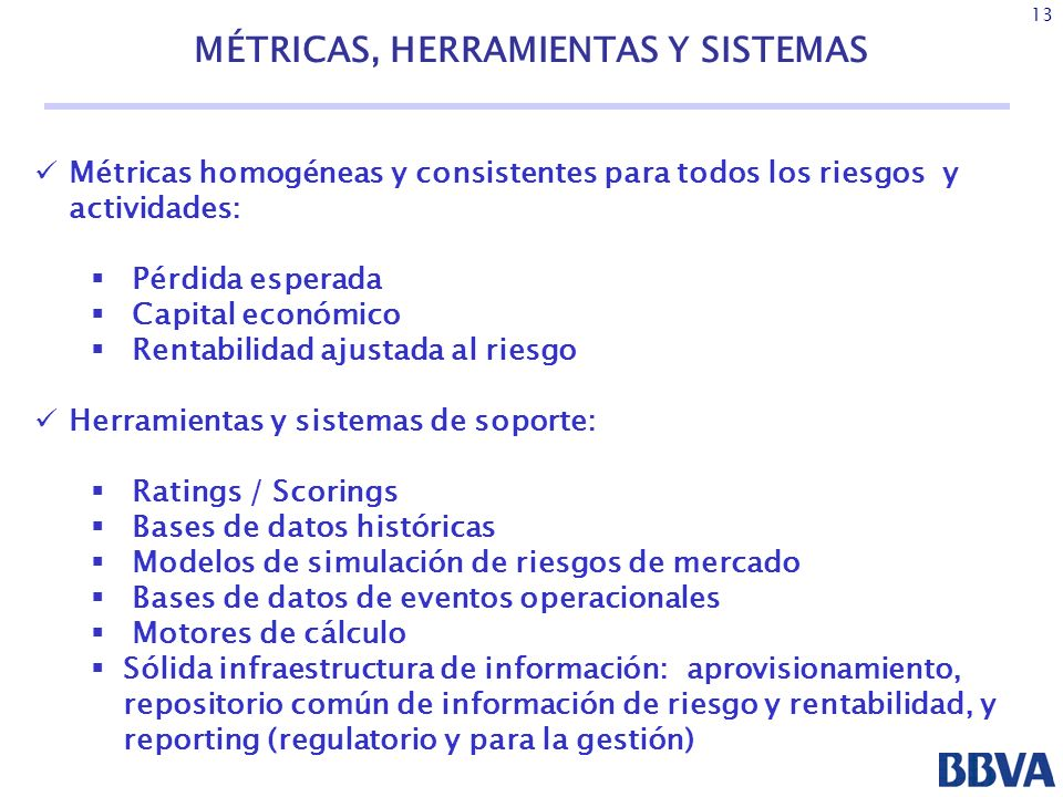MÉTRICAS, HERRAMIENTAS Y SISTEMAS