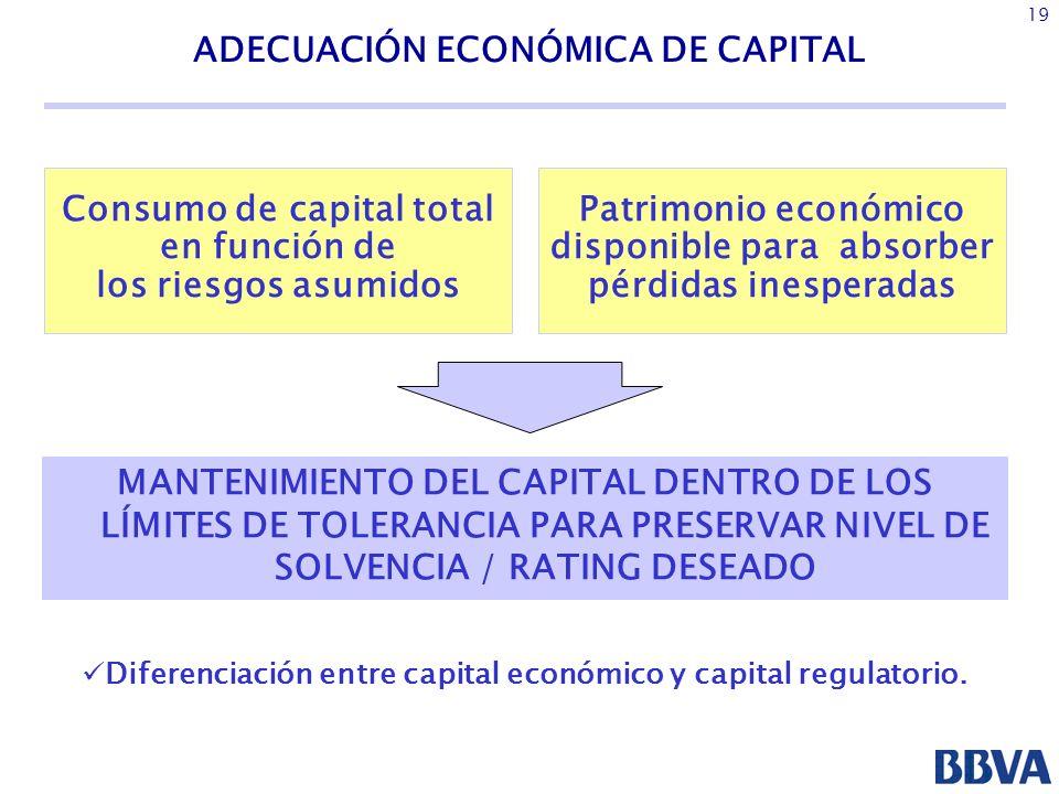 ADECUACIÓN ECONÓMICA DE CAPITAL