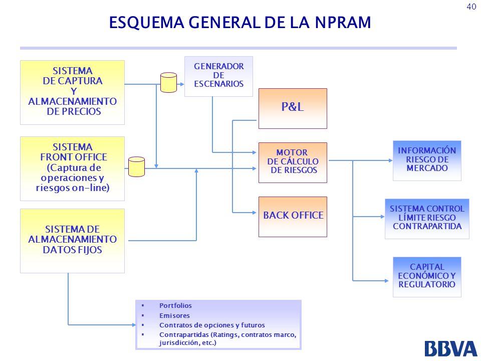 ESQUEMA GENERAL DE LA NPRAM