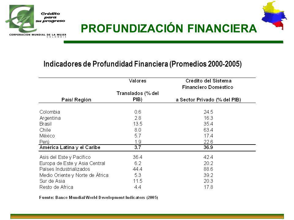 PROFUNDIZACIÓN FINANCIERA