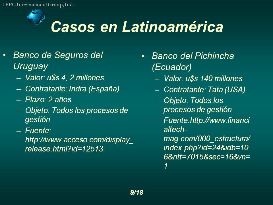 Casos en Latinoamérica