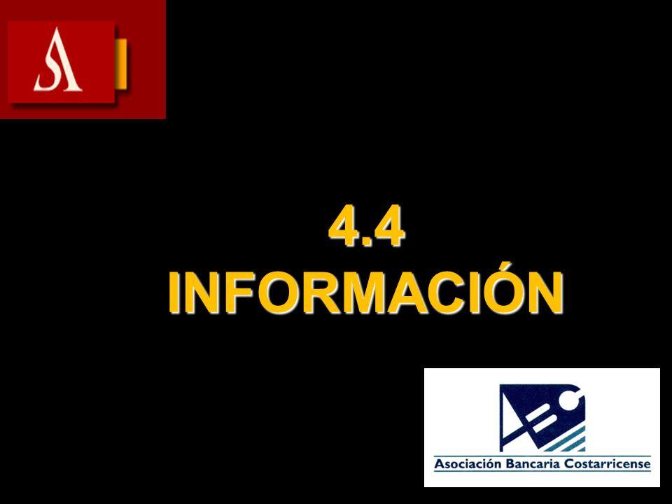 4.4 INFORMACIÓN