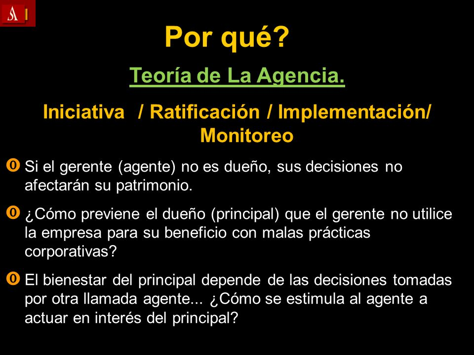 Iniciativa / Ratificación / Implementación/ Monitoreo