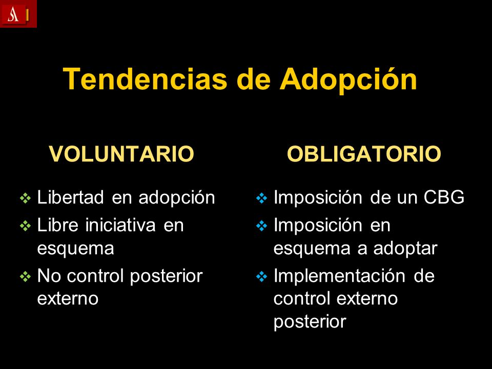 Tendencias de Adopción