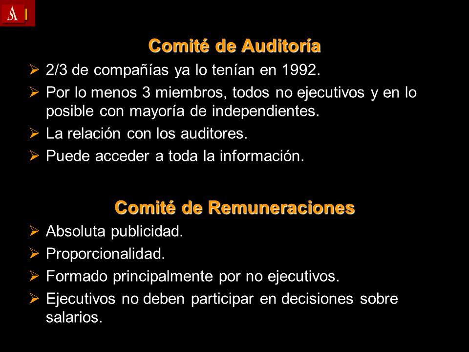 Comité de Remuneraciones