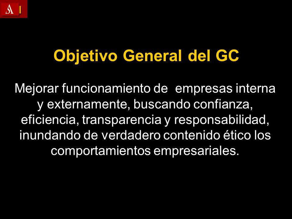 Objetivo General del GC