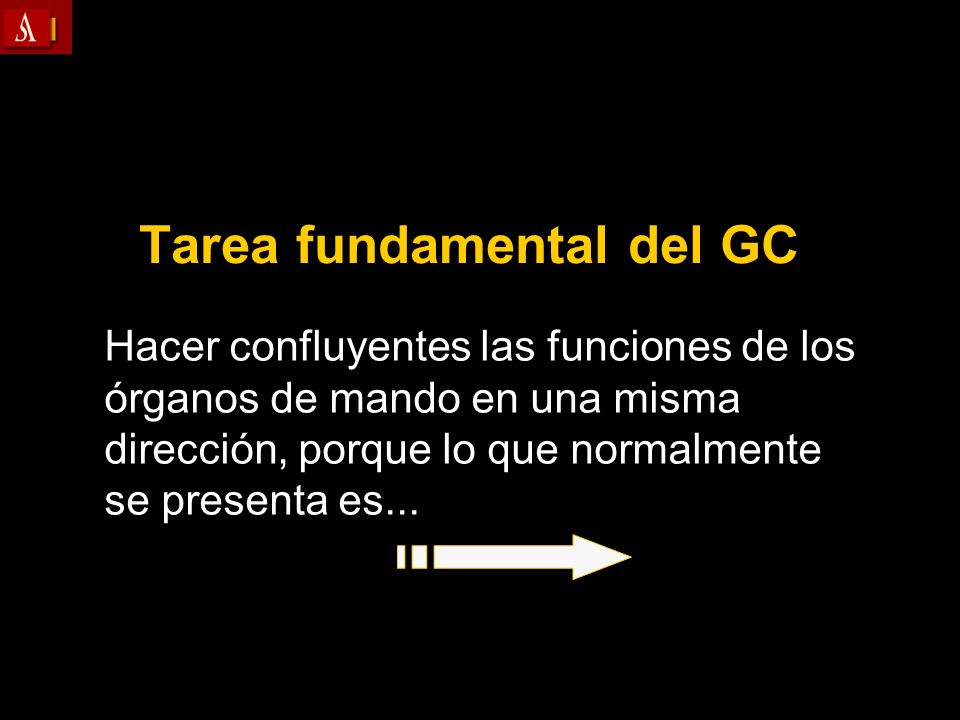 Tarea fundamental del GC