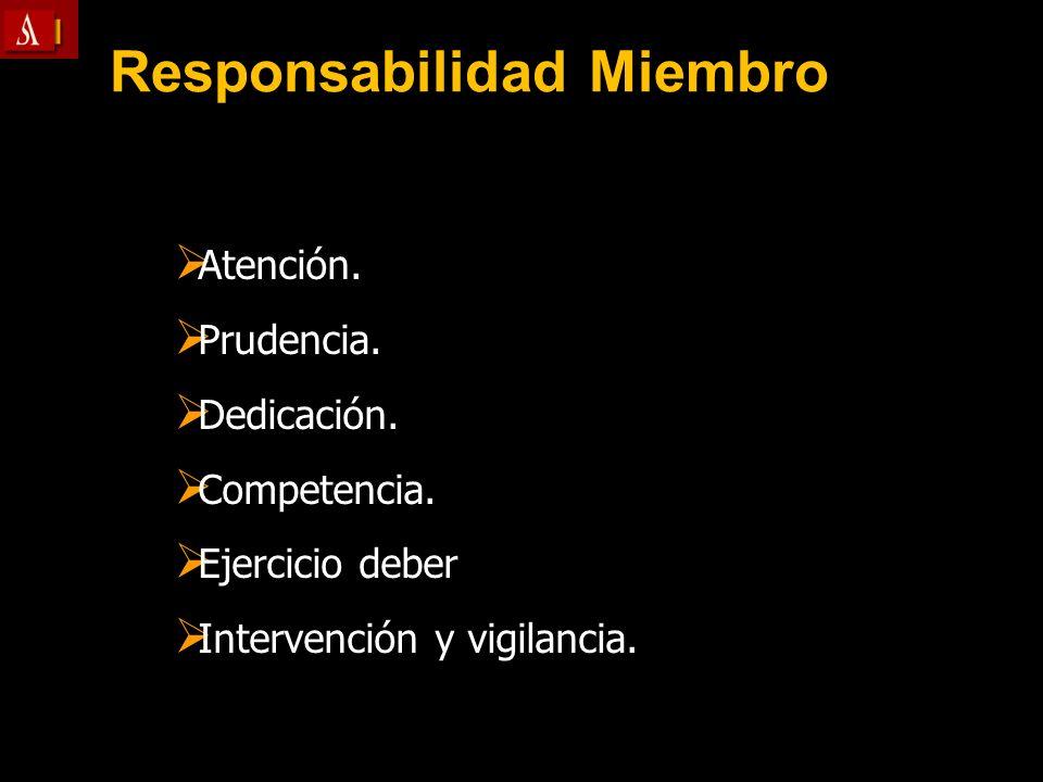 Responsabilidad Miembro