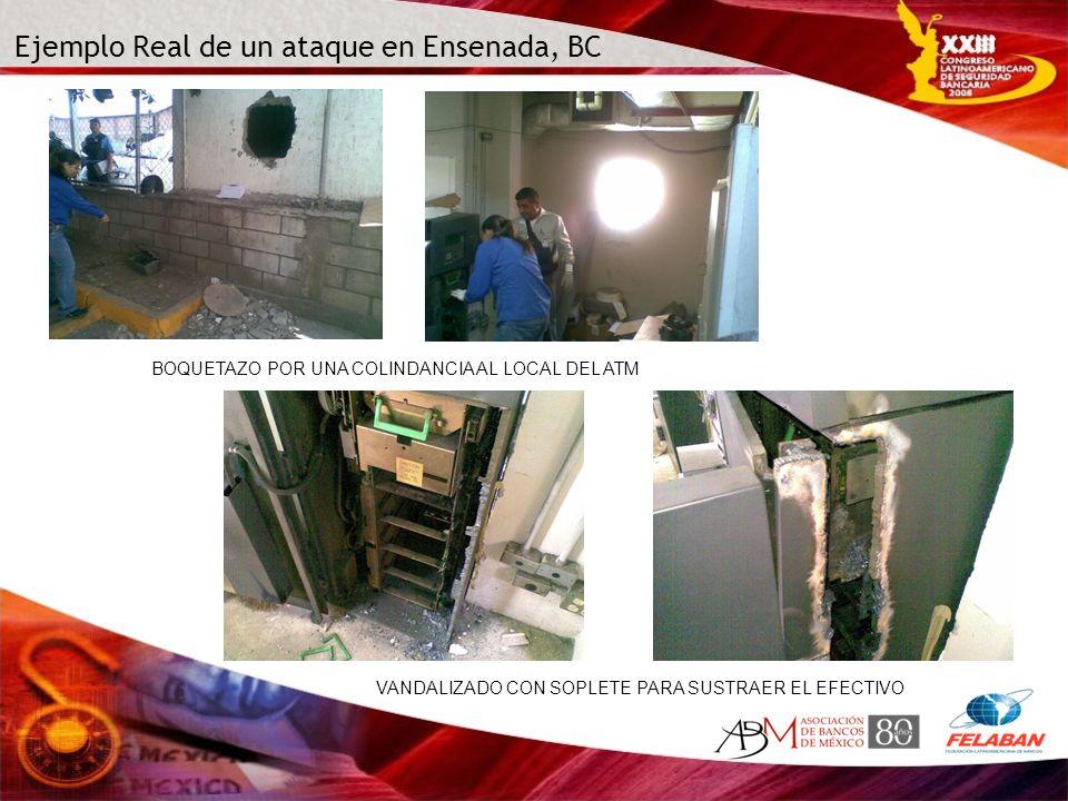 Ejemplo Real de un ataque en Ensenada, BC