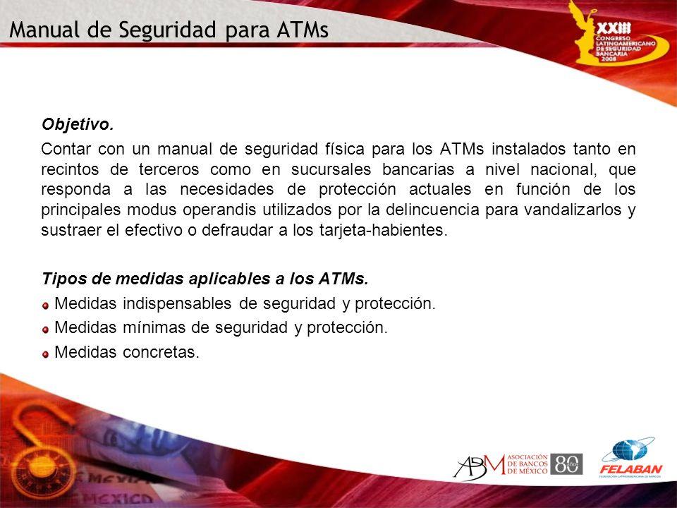 Manual de Seguridad para ATMs