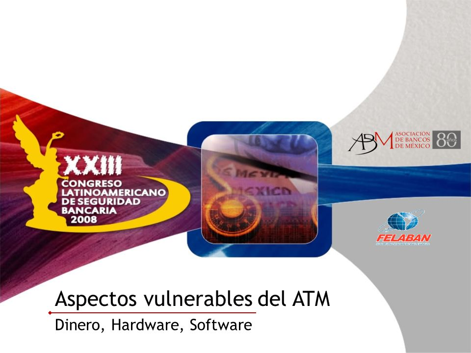 Aspectos vulnerables del ATM