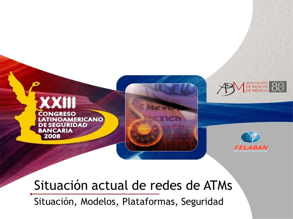 Situación actual de redes de ATMs