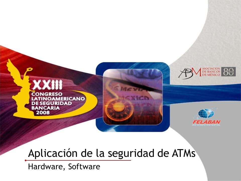 Aplicación de la seguridad de ATMs