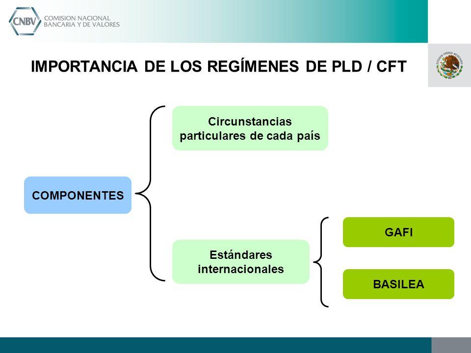 IMPORTANCIA DE LOS REGÍMENES DE PLD / CFT