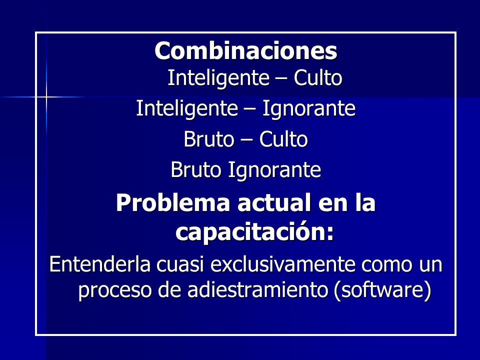 Combinaciones Inteligente – Culto