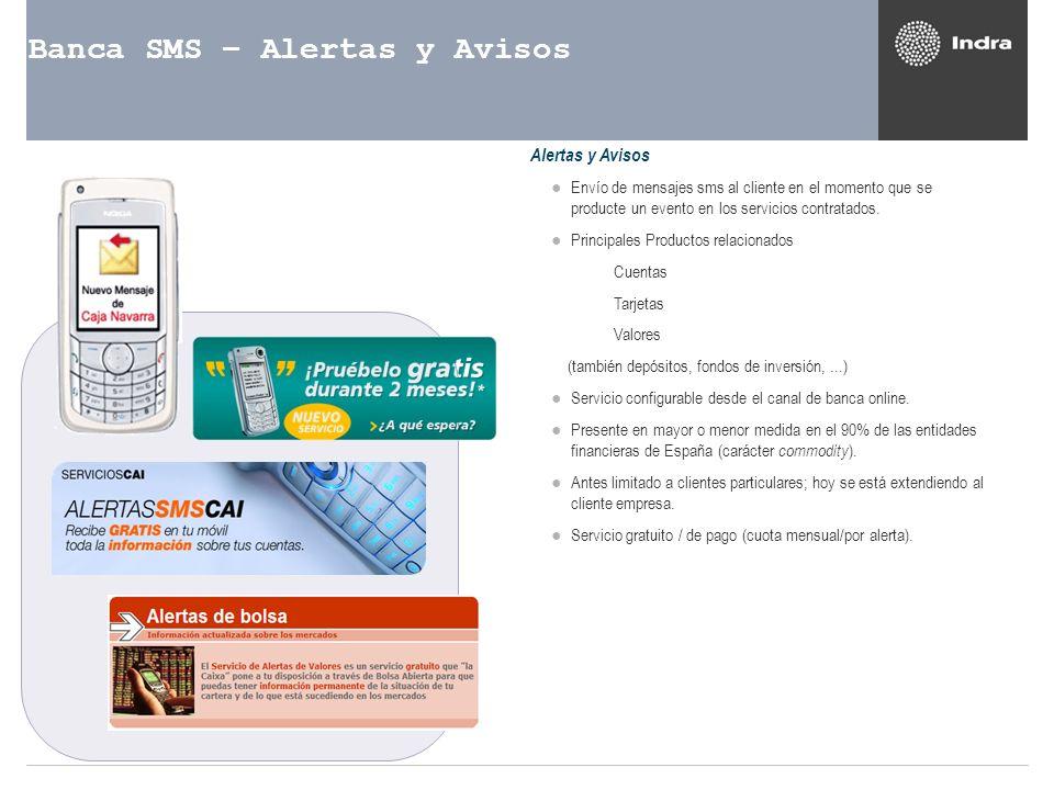 Banca SMS – Alertas y Avisos