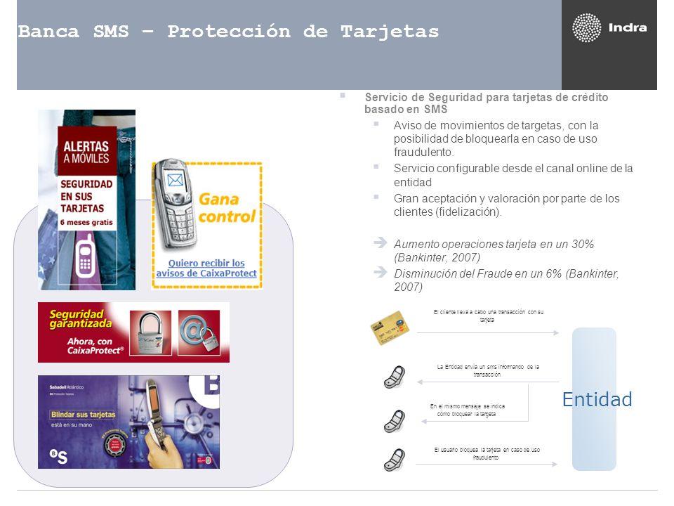Banca SMS – Protección de Tarjetas