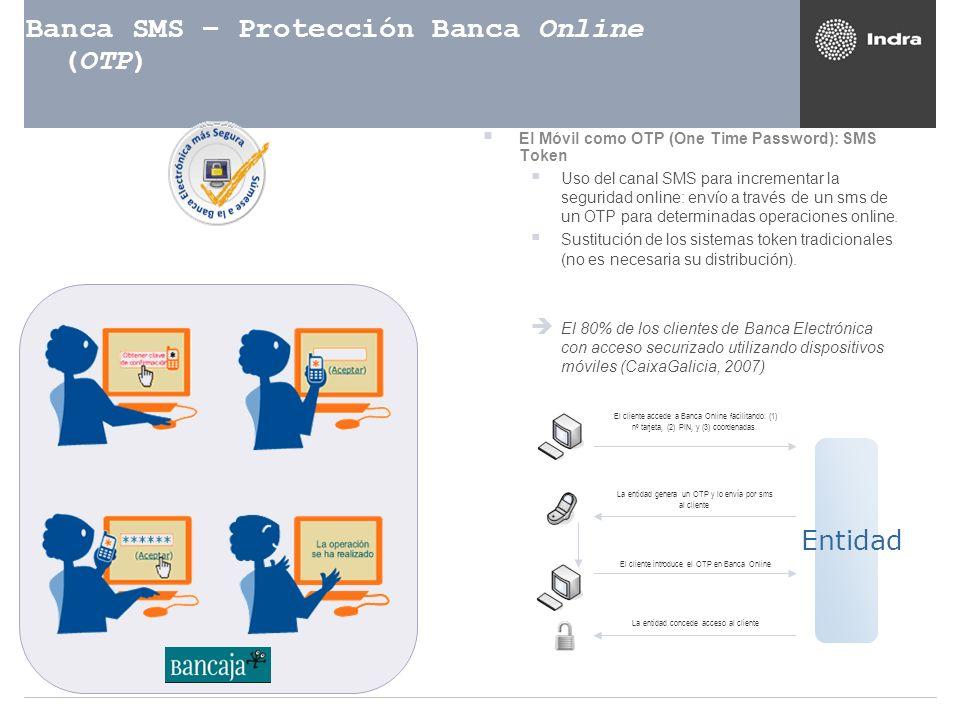 Banca SMS – Protección Banca Online (OTP)