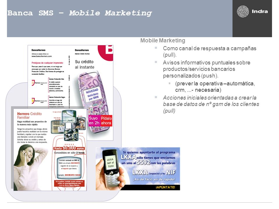 Banca SMS – Mobile Marketing