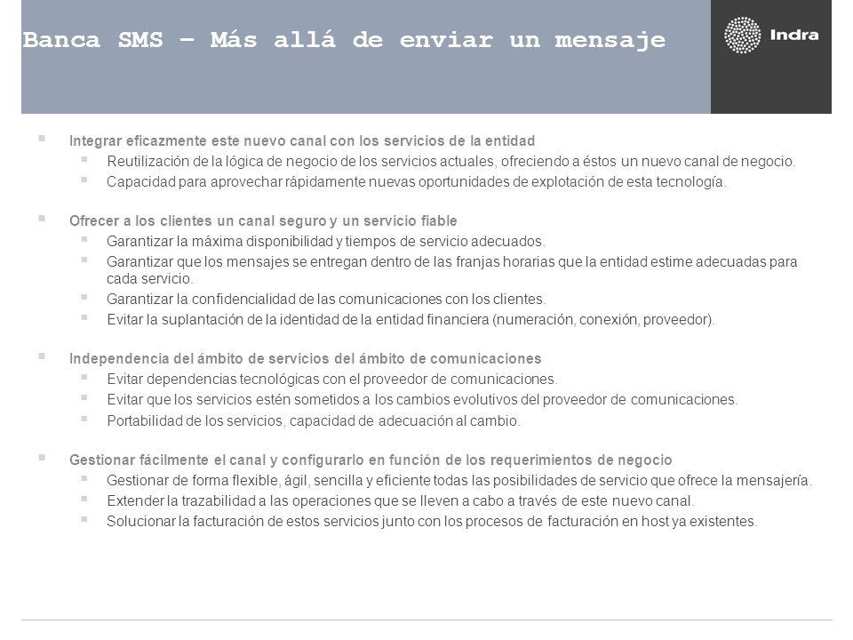 Banca SMS – Más allá de enviar un mensaje