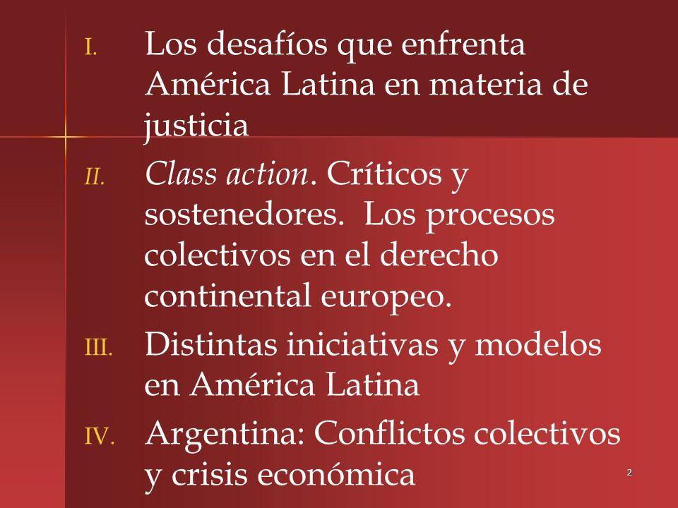 Los desafíos que enfrenta América Latina en materia de justicia