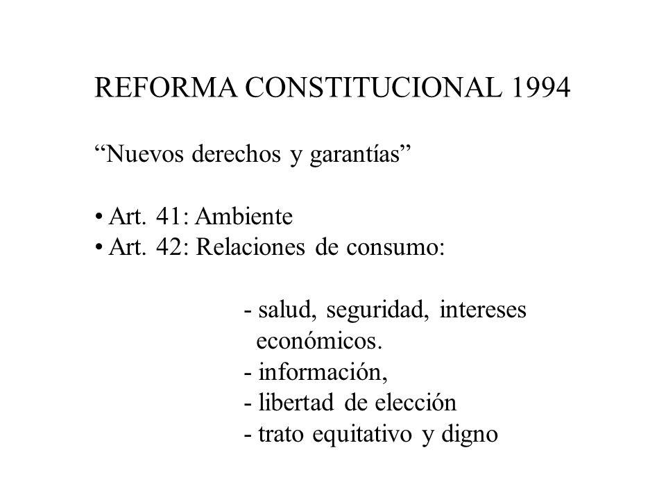 REFORMA CONSTITUCIONAL 1994