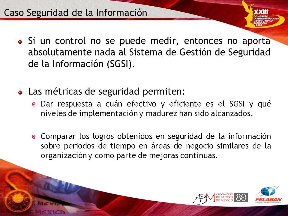 Caso Seguridad de la Información