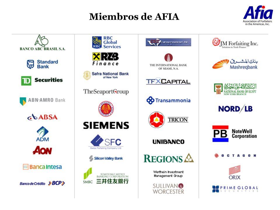 Miembros de AFIA