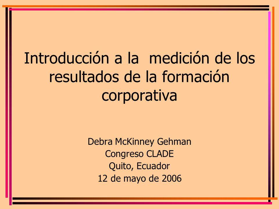 Debra McKinney Gehman Congreso CLADE Quito, Ecuador 12 de mayo de 2006