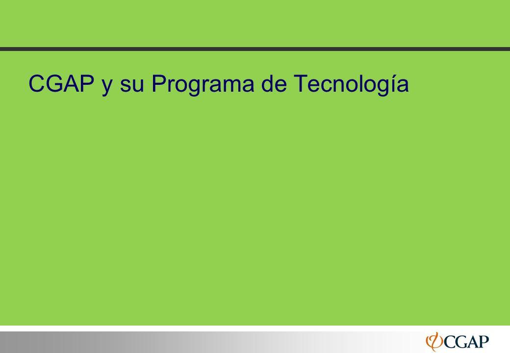CGAP y su Programa de Tecnología