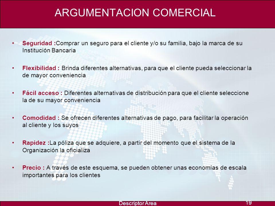ARGUMENTACION COMERCIAL
