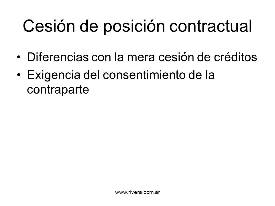 Cesión de posición contractual