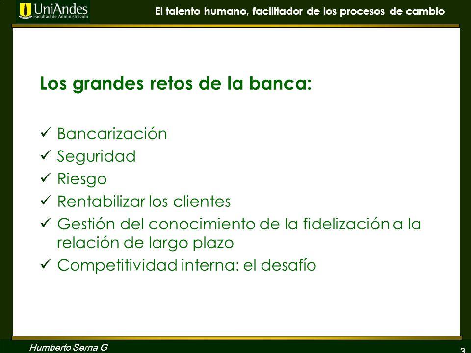 Los grandes retos de la banca: