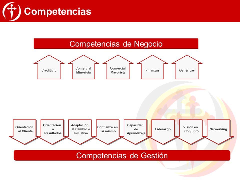 Competencias Competencias de Negocio Competencias de Gestión Hoy Hoy