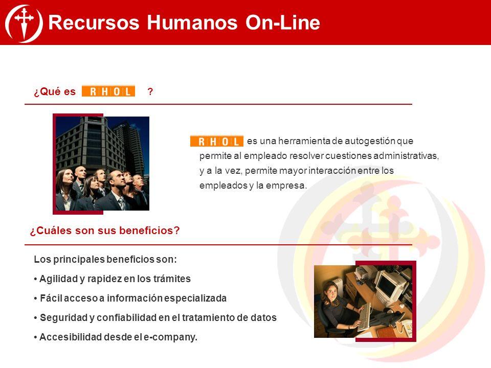 Recursos Humanos On-Line