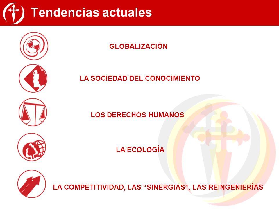 Tendencias actuales GLOBALIZACIÓN LA SOCIEDAD DEL CONOCIMIENTO
