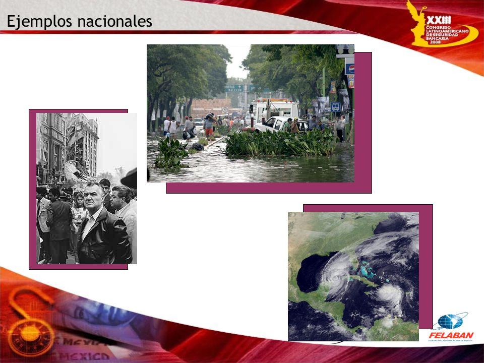 Ejemplos nacionales