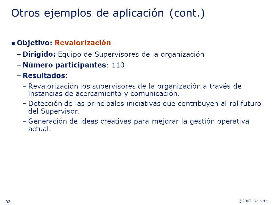 Otros ejemplos de aplicación (cont.)