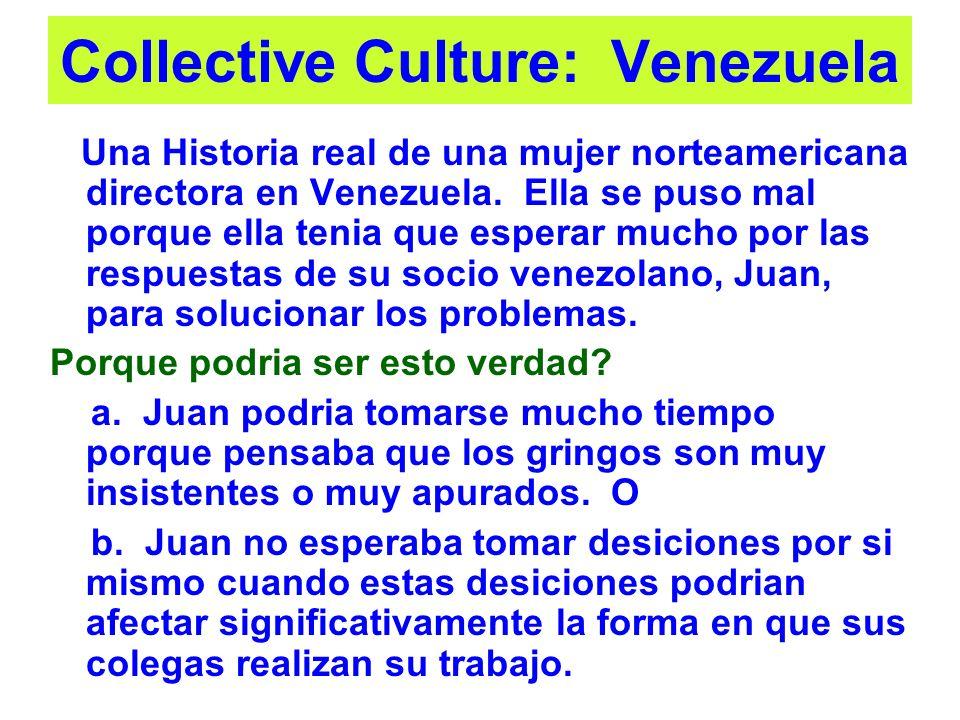 Collective Culture: Venezuela