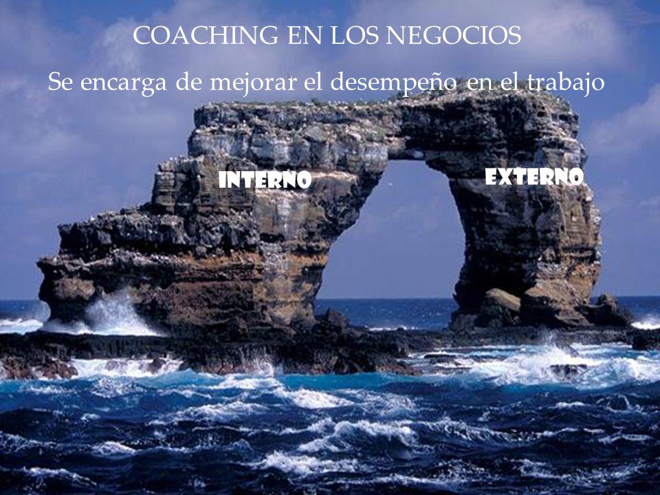 COACHING EN LOS NEGOCIOS