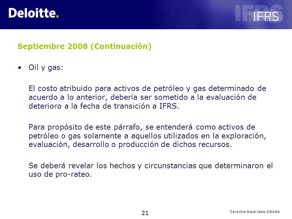 Septiembre 2008 (Continuación)