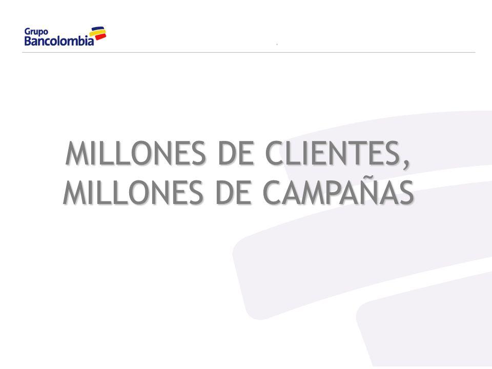 24/03/2017 MILLONES DE CLIENTES, MILLONES DE CAMPAÑAS 1,2,3...