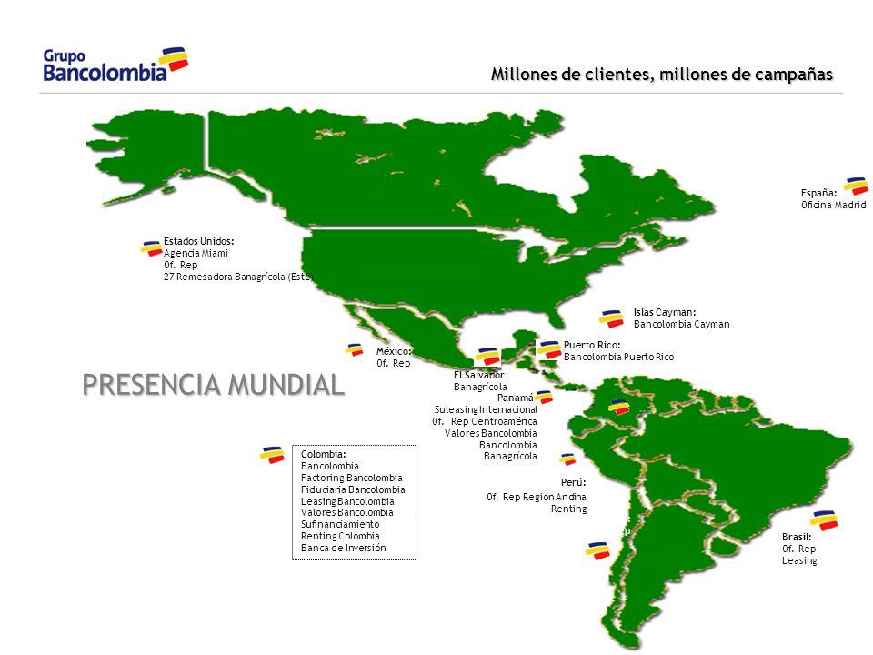 PRESENCIA MUNDIAL 24/03/2017 1,2,3... España: Oficina Madrid