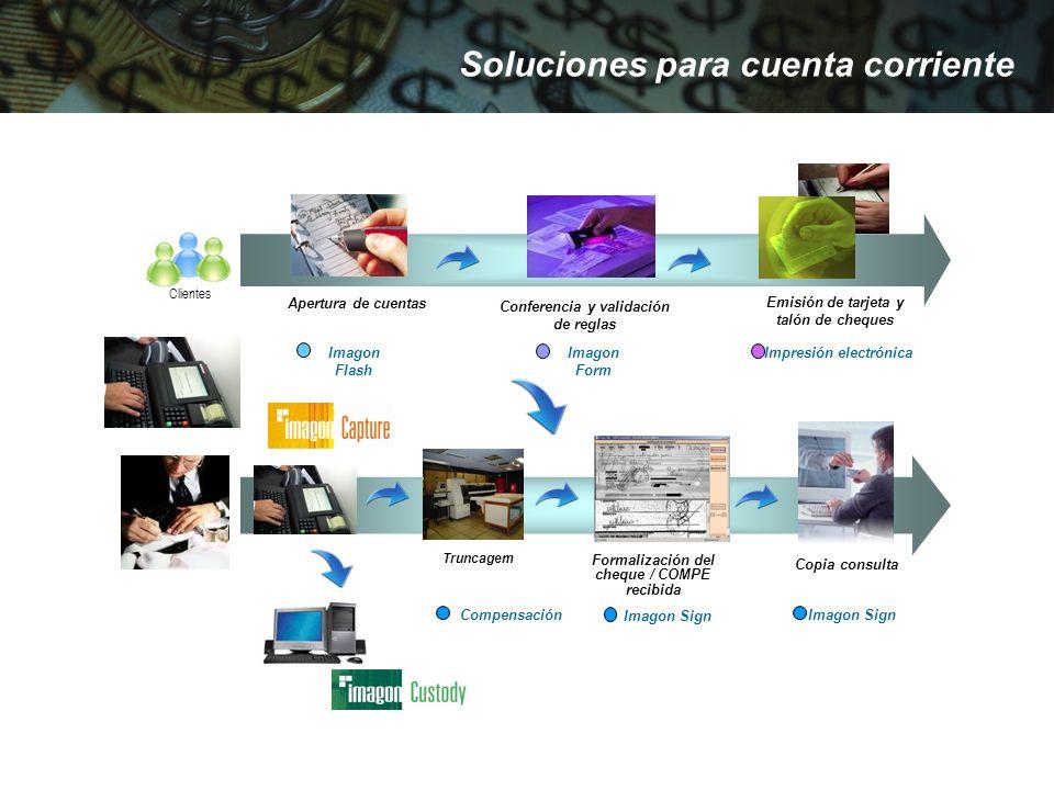 Soluciones para cuenta corriente