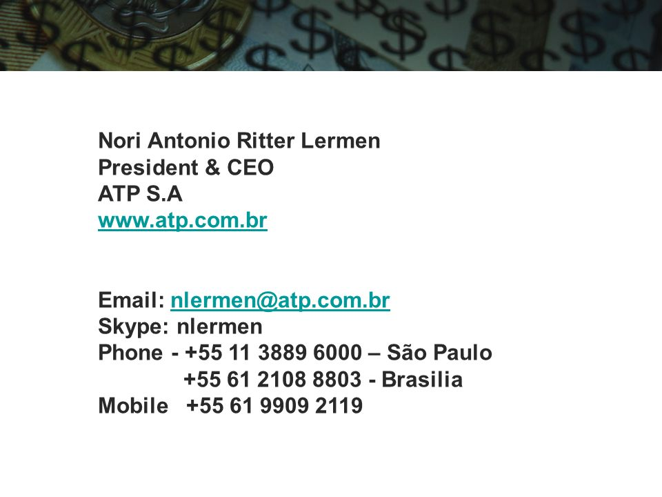 Nori Antonio Ritter Lermen