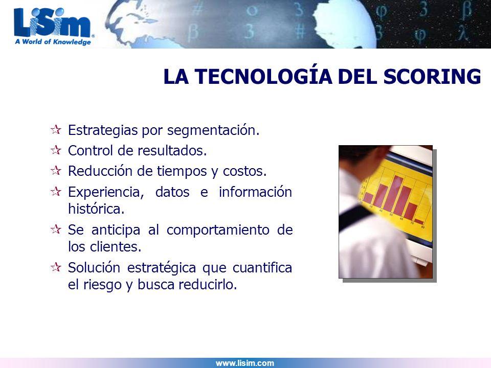 LA TECNOLOGÍA DEL SCORING
