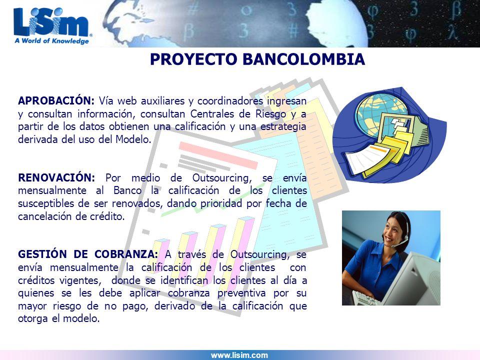 PROYECTO BANCOLOMBIA