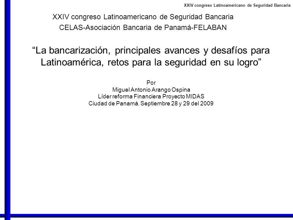 XXIV congreso Latinoamericano de Seguridad Bancaria