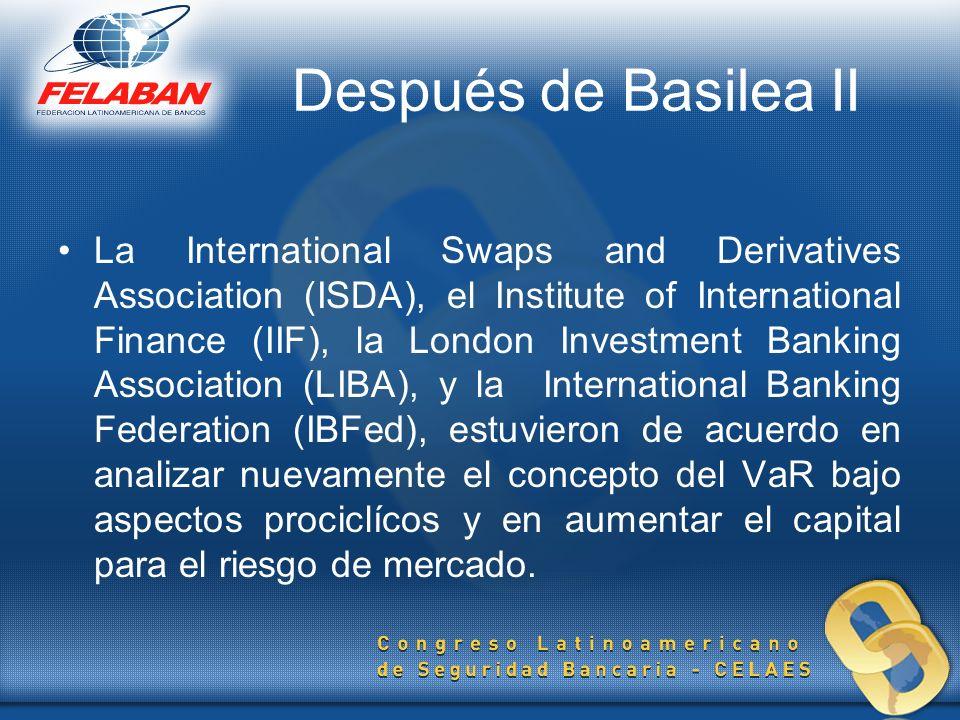 Después de Basilea II